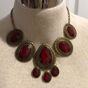 VINTAGE COSTUME CHOKER NECKLACE